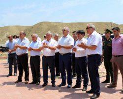 Герой России, генерал - майор Рустам Мурадов с дружеским визитом посетил Табасаранский район